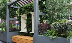 The Wild West End garden was designed by Kate Gould, a five times Chelsea gold medallist.