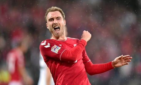 Denmark's Christian Eriksen fires double to give Wales reality check