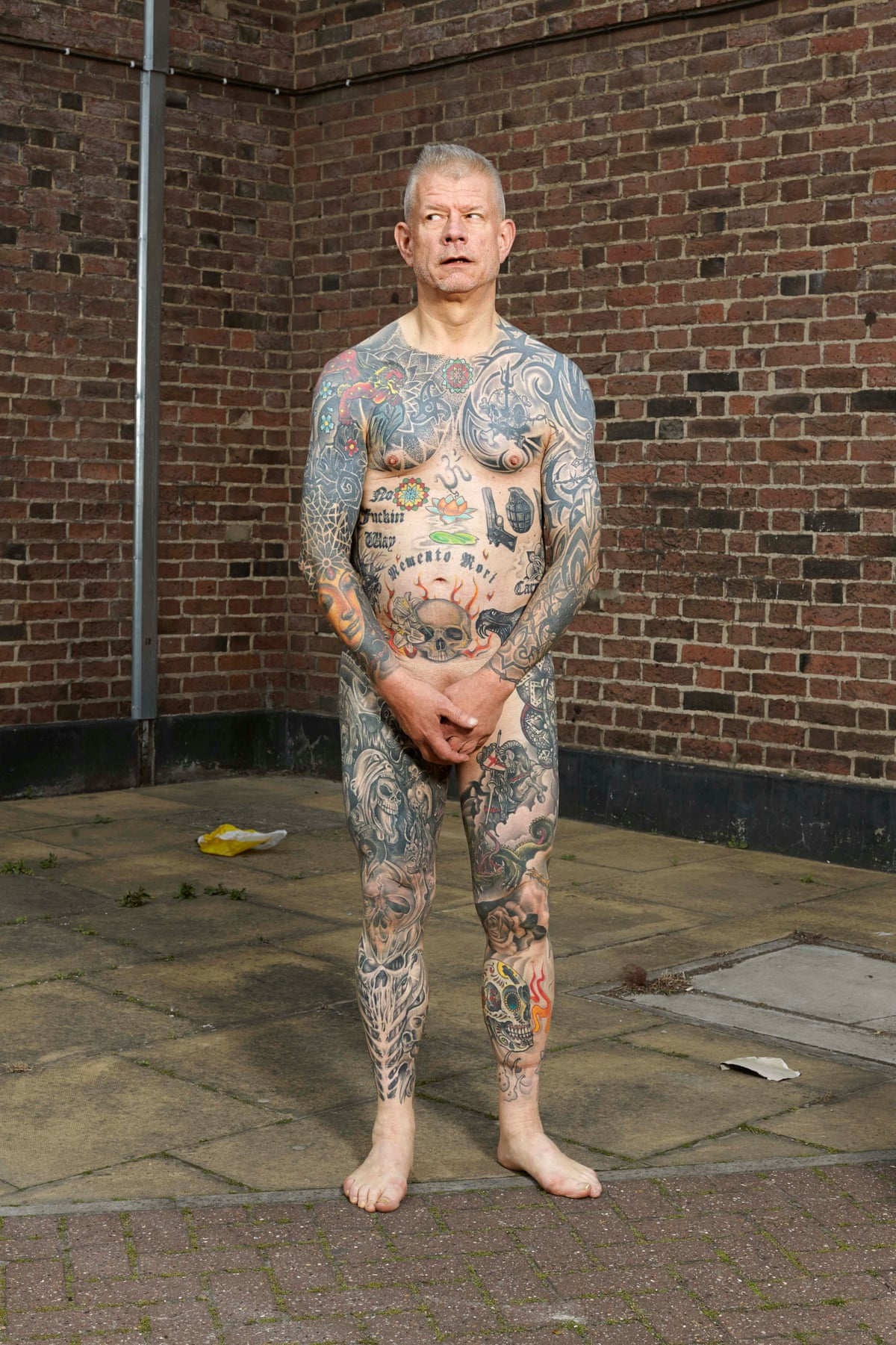 Naked People With Tattoos 85