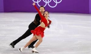 Yura Min and Alexander Gamelin of South Korea.