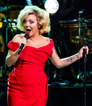 'It's as if I'm naked!' ... Sheridan Smith.