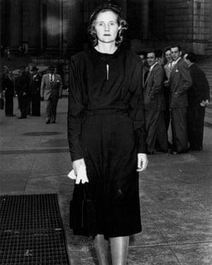 Daphne du Maurier in New York, 1947.