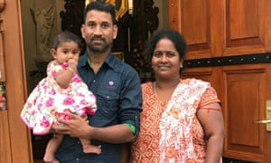 Tamil couple Nades and Priya and their Australian-born children have been held in detention since being arrested in a dawn raid on their home in Biloela, Queensland.