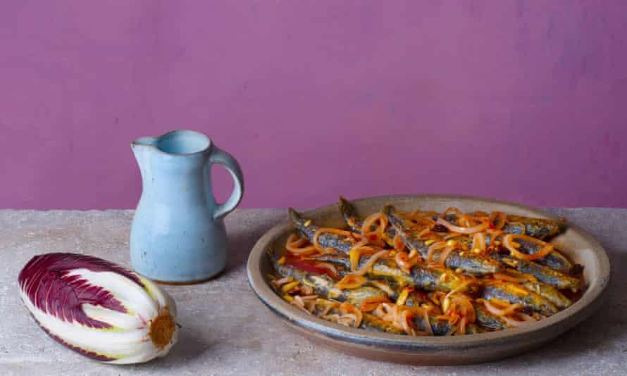Sardoni in saor – marinated sardinesOFM
