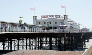 'We had a huge row on Brighton pier just in front of the waltzers.'