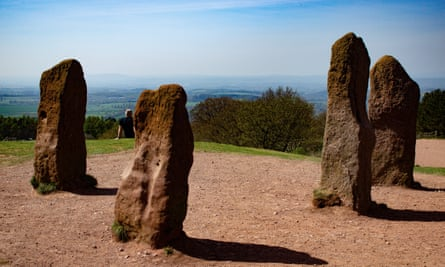 Four Stones, Clent Hill, Worcestershire