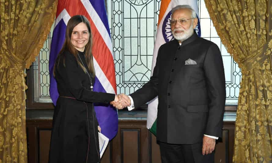 The plane that Stefansson took was reported to have been carrying the Icelandic prime minister, Katrín Jakobsdóttir, to a meeting with India's prime minister in Stockholm on Tuesday.