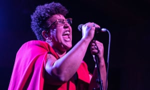 'Intense and political' ... Brittany Howard at Earth, Hackney, 29 August 2019.