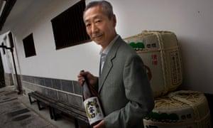 Junichiro Ozawa, president of Ozawa Shuzo sake brewery.