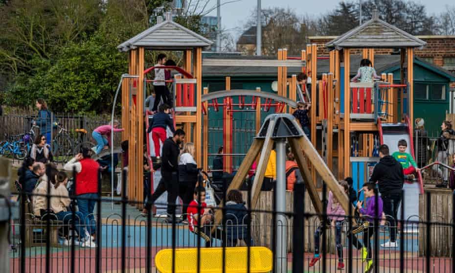 Playground, Hampstead Heath, London