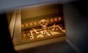 The Black Death victim at Charterhouse.