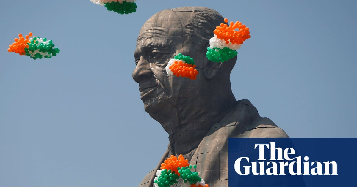 Celebrations as India unveils world's tallest statue – in pictures