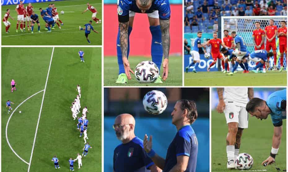 Italy won Euro 2020 in part thanks to their set pieces coach Gianni Vio.