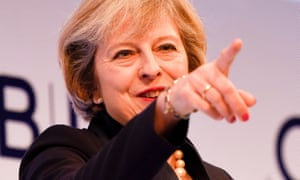 Theresa May Attends CBI Annual Conference