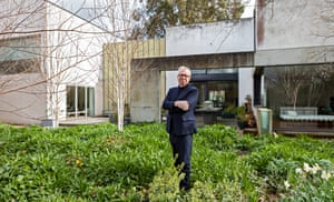 Architect David Chipperfield at home of photographer Nick Knight