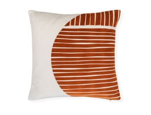 One Nine Eight Five is a textiles homeware brand committed to ethical trading and sustainable production. Ebba cushion by 1985, £85, heals.com
