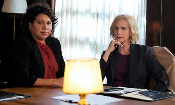 Deborah Mailman and Rachel Griffiths in series 2 of Total Control.