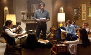 """Ben Affleck as Tony Mendez, center, in """"Argo,"""" a rescue thriller about the 1979 Iranian hostage crisis."""