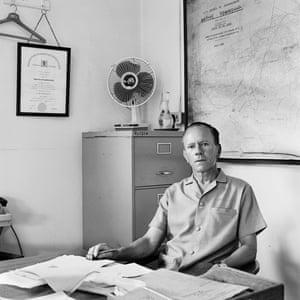 JJ Oosthuisen, Senior Township Superintendent, Senoane, Soweto, 1973.