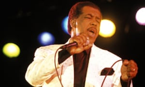 Ben E. King performing in 1995