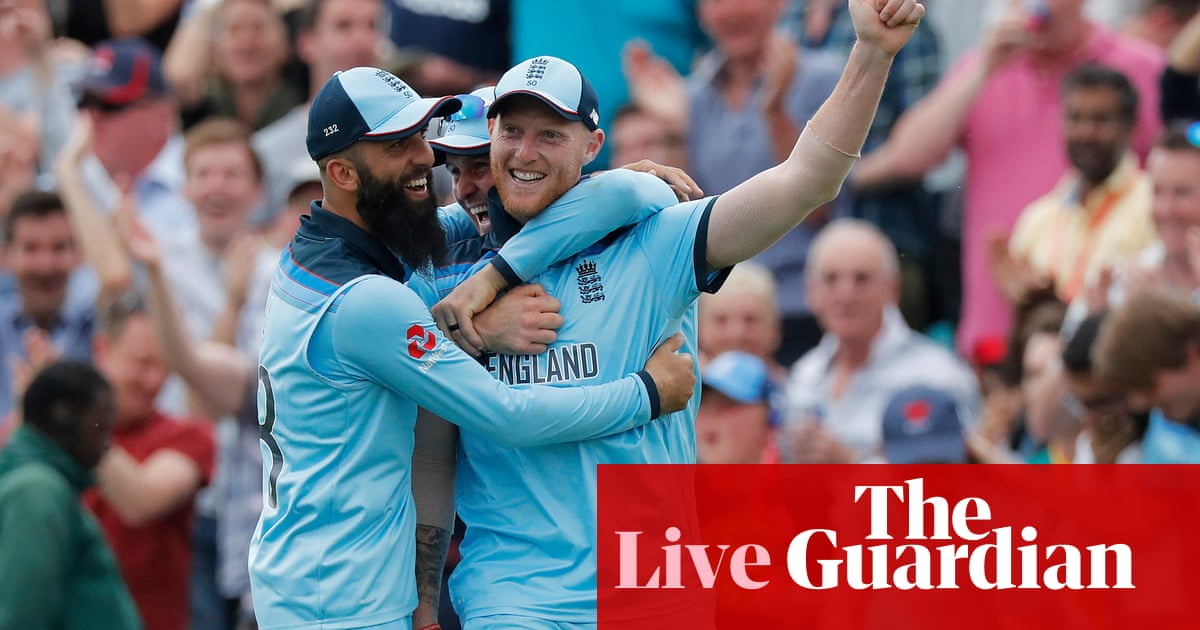 457ec236eca England beat South Africa by 104 runs to win Cricket World Cup opener – as  it happened