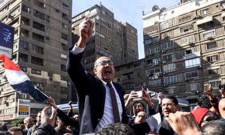 Egyptian lawyer and former presidential candidate Khaled Ali.