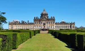 Castle Howard, Yorkshire, was built by John Vanbrugh in partnership with Nicholas Hawksmoor. Although building work began in 1699, the construction of Castle Howard took more than 100 years to complete.