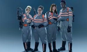 Melissa McCarthy, Kristen Wiig, Kate McKinnon and Leslie Jones - who you gonna call?