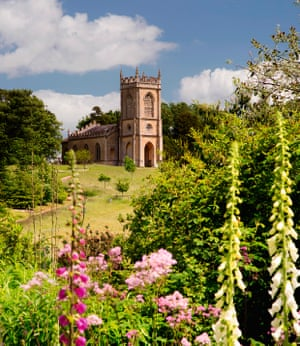 Brown's design for Croome Court in Worcestershire included resiting the church of St Mary Magdalene.