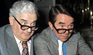 Ronnie Barker and Ronnie Corbett were brought together by James Gilbert.