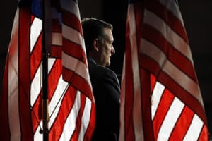 Ted Cruz speaks during a campaign rally in Philadelphia.