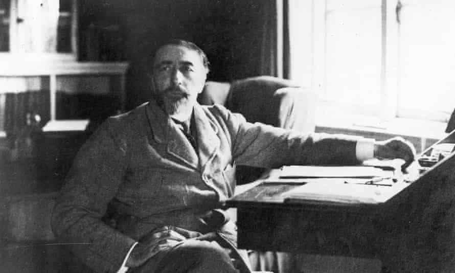'It almost seems as if he wrote his fiction through a zoom lens pointed at the future'... Joseph Conrad.