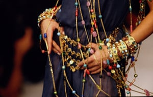 Beaded necklaces and bracelets from the label's Spring/Summer 1993 Ready-to-Wear collection