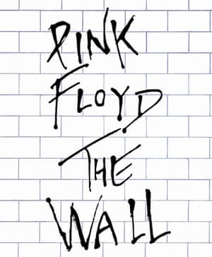 Album cover of Pink Floyd's The Wall, 1979.