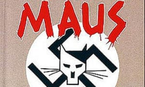 Cover of the graphic novel Maus by Art Spiegelman