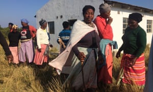 Residents of the village of Xolobeni