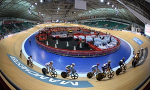 UK Anti-Doping officials have visited British Cycling staff at The National Cycling Centre in Manchester.