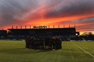 Saracens have moved from tenants to landlords at the Allianz Stadium