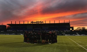 57018228e47 Allianz Park is the home of Saracens, last season's Premiership champions.