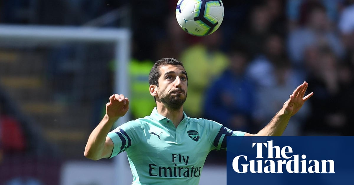 435065286f4 Arsenal face prospect of having to leave Mkhitaryan at home for Baku final