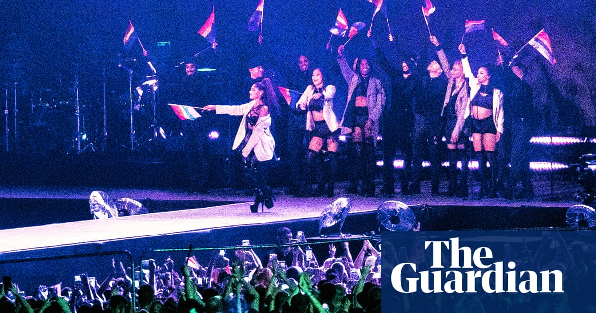 Ariana Grande returns to Manchester to play poignant Pride show