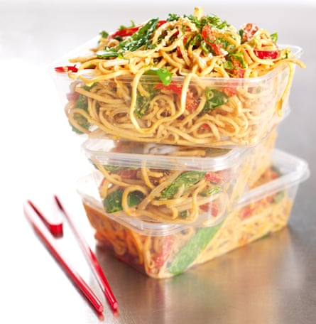 Nigella Lawson's sesame peanut noodles.