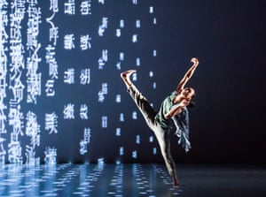 A scene from Formosa by Cloud Gate Dance Theatre of Taiwan at Sadler's Wells (Opening 09-05-18)
