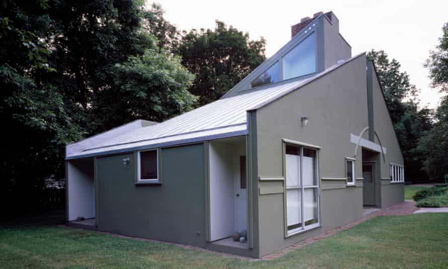 The house Robert Venturi designed for his mother, Vanna, in Philadelphia, Pennsylvania.
