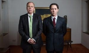Steve Pemberton and Reece Shearsmith in Inside No 9. Photograph: Sophie Mutevelian/BBC