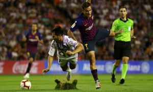 Real Valladolid's Javi Moyano