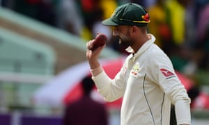 Nathan Lyon bowled Australia into contention with six second-innings wickets in the first Test against Bangladesh.