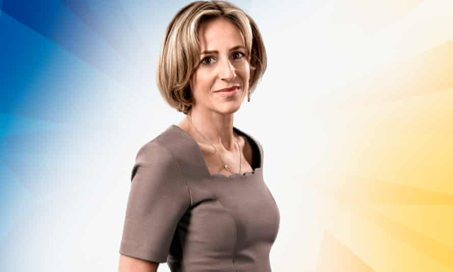 TV journalist Emily Maitlis