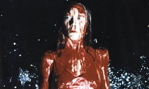 Sissy Spacek as Carrie.