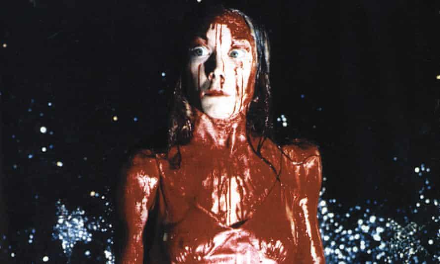 Sissy Spacek as Carrie.
